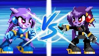 Lilac Vs Lilac Black (Pivot Sprites Battle)