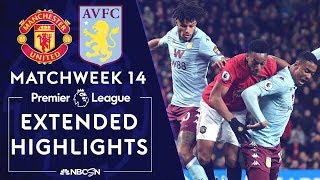 Manchester United v. Aston Villa | PREMIER LEAGUE HIGHLIGHTS | 12/01/19 | NBC Sports