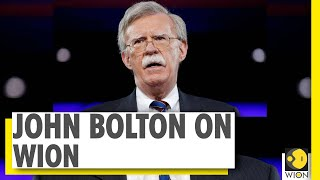 The Interview   Former US national security advisor John Bolton on WION   Exclusive
