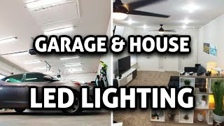 Cheap + Super Bright LED Garage/House Lighting!