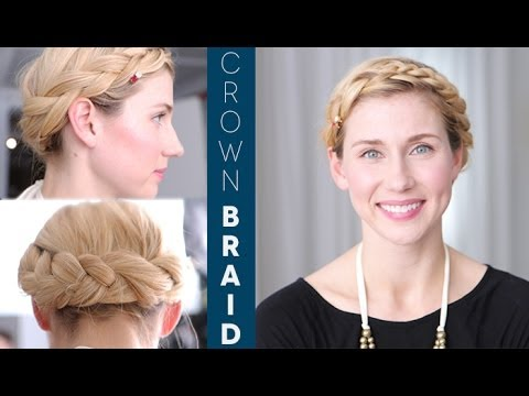 Crown Braid: Easy Video Tutorial