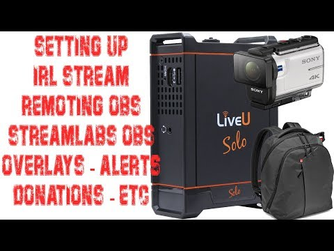 Streamlabs to OBS - IRL Mobile Stream RTMP Server for DIY LiveU or