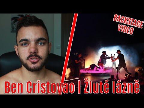 BEN CRISTOVAO   ŽLUTÉ LÁZNĚ - BACKSTAGE VIDEO!