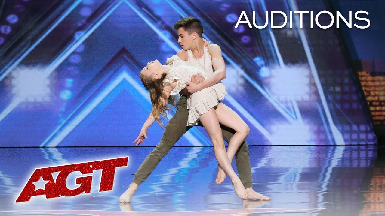 Kid Dancers Izzy and Easton Dazzle With Contemporary Dance - America's Got Talent 2019 thumbnail