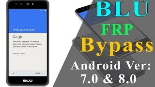 All BLU Google Account Bypass (FRP) New Method 2019