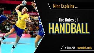 The Rules of Handball (Team Handball or Olympic Handball) - EXPLAINED!