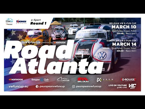 European VW e-Fun Cup powered by Hankook - Road Atlanta