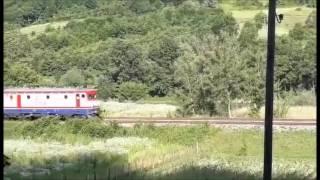 E 52507 na putnickom vozu Zenica-Maglaj-Zenica