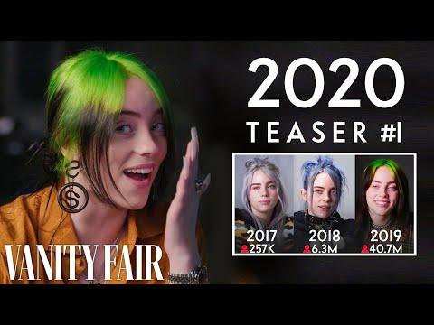 Billie Eilish: Same Interview, The Fourth Year (Teaser #1) | Vanity Fair music video cover