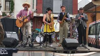 Video The Dark Blue Elephants - Live z Hradební ulice