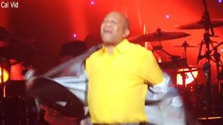 Lenny Williams So Very Hard To Go / Cause I Love You Live 2018
