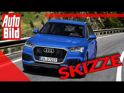 Zukunftsaussicht: Audi Q7 Facelift (2019) Neuvorstellung - Skizze - Infos - SUV - Preise