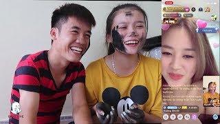 Hưng Vlog - Troll Em Gái Bôi Nhọ Nồi Lên Mặt Đoán Tuổi Gái Xinh Bigo