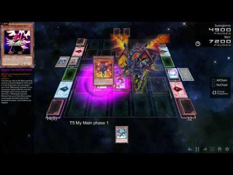 Intense Duel! Blue-Eyes VS Eidolon - YGOPro 2 Gameplay