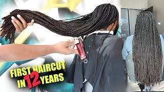 LIFECHANGING TRANSFORMATION | THE REBIRTH OF CEDRICK | CUTTING OF HIS LOCKS