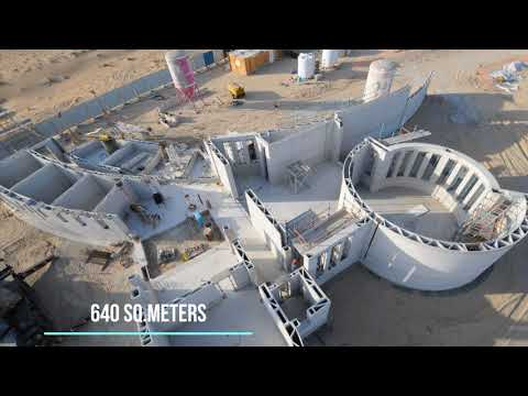 Largest 3D Printed Building in the World, in Dubai