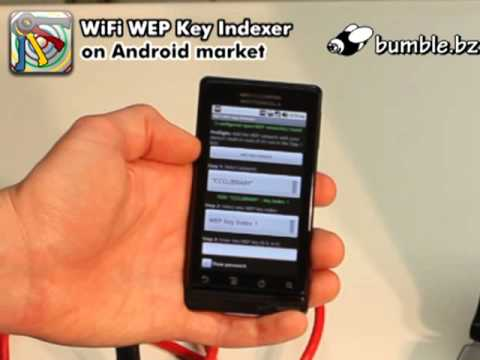 Video of WiFi WEP Key Indexer