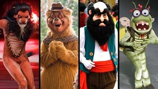 Top 10 Creepiest Costume Characters At Disney Parks! Part 2 - DIStory Ep. 27! Halloween Special!