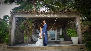Tulum wedding videographer/ Mandy & Ian / Be Tulum / Lunarts Films