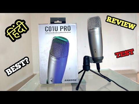 Samson C01u Pro Usb Studio Condensor Microphone Review in Hindi - Best Usb Condensor Mic in Budget