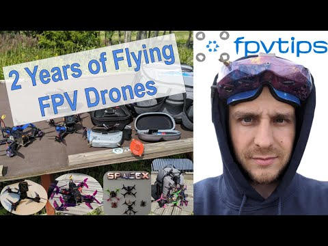 2 Years of Flying FPV Racing Drones 💙🚁