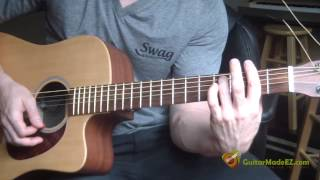 The Beatles I've Just Seen A Face Guitar Lesson