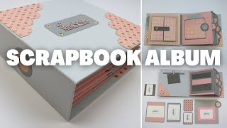SCRAPBOOK ALBUM | MEMORY BOOK | SCRAPBOOK IDEAS