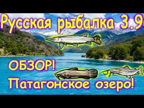 Русская рыбалка 3.9. ОБЗОР! Патагонское озеро.