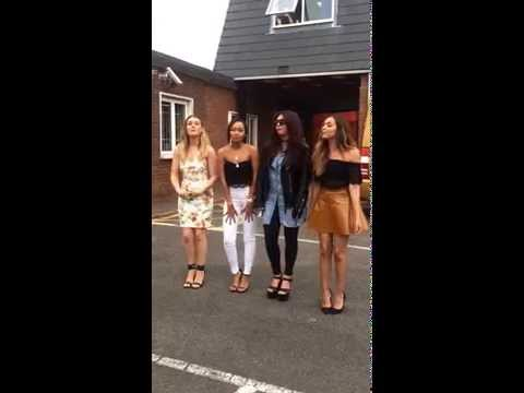 Bumble Bee incident - Little Mix Acoustic - Black Magic Radio Tour Wales!!