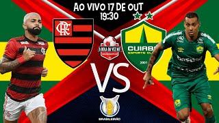 Jogo Flamengo x Cuiabá - ao vivo - BRASILEIRO 2021 - Narração