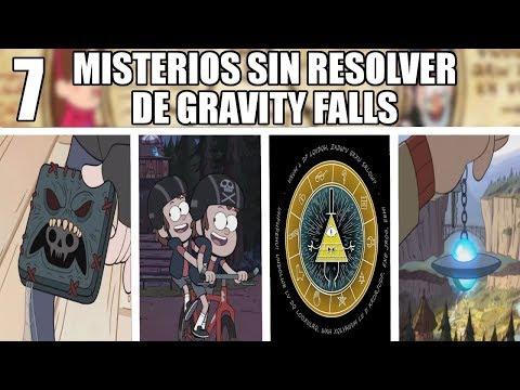 7 MISTERIOS SIN RESOLVER de GRAVITY FALLS