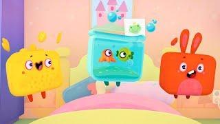 Bonitos Cubitos - Episodio 11 - Amarillo, ¡canta! - Moolt Videos Para Niños
