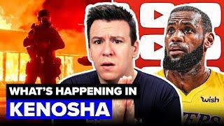 LeBron James Ends NBA STRIKE?! What's Happening in Kenosha, Huge CDC Testing Update, & Tik Tok News