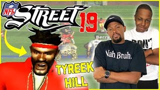 Tyreek Hill GOES OFF Against The Saints! (NFL Street 2 Updated Rosters)