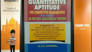 Quantitative Aptitude By Rs Aggarwal Free Online Videos Best
