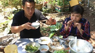 CHIÊN CÁ ĂN CƠM NGOÀI VƯỜN RAU THẬT THÚ VỊ   7 Thuận #24