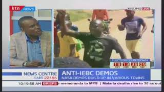 News Center: NASA anti-IEBC demos build up in various towns