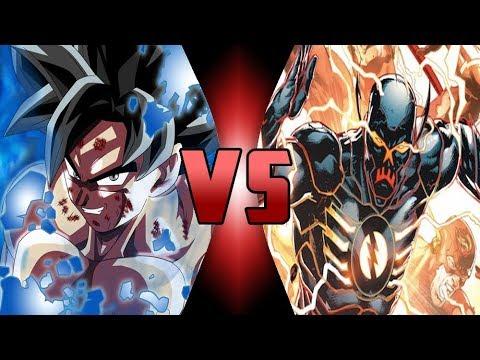 God Goku VS God Flash