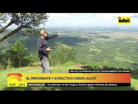 El imponente y atractivo Cerro Acatí