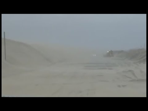 Outer Banks feeling effects of nor'easter