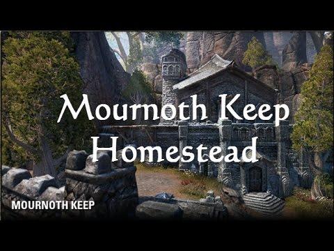 Mournoth Keep Vs Forsaken Stronghold Elder Scrolls Online