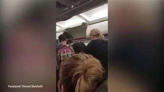 Angry passenger films family being kicked off Jetstar flight