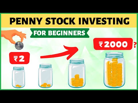 Penny Stock Investing for Beginners   ₹2 to ₹20000?