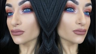 Kylie Cometics Royal Peach Palette Inspired Makeup Tutorial