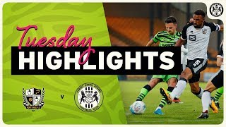 HIGHLIGHTS   Port Vale 1 Forest Green Rovers 2