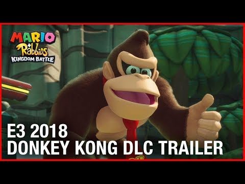 Mario + Rabbids Kingdom Battle: E3 2018 Donkey Kong Adventure DLC Gameplay Trailer | Ubisoft [NA] thumbnail