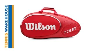 Wilson Juice Mini Tour 6-Pack Bag video