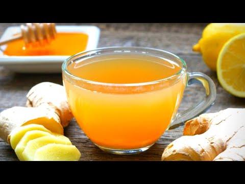 , title : 'HOME REMEDY - Ginger Lemon Honey Tea Recipe - Cold & Flu Relief I HERBAL TEA for Cold & Cough
