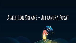 A Million Dreams   Cover By Alexandra Porat [LIRIK + TERJEMAHAN]