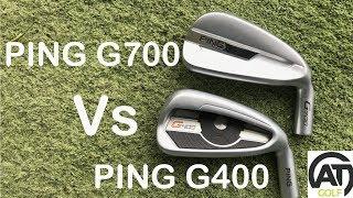 PING G700 V PING G400 IRONS
